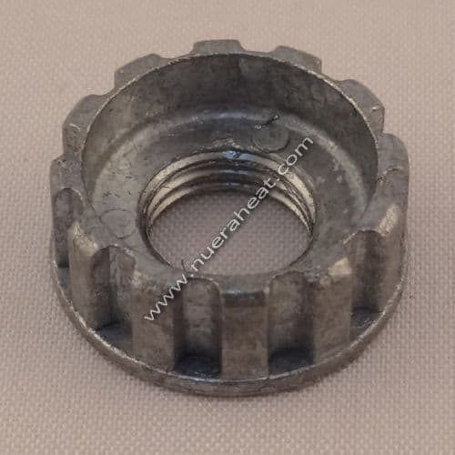 "EnergyLogic Burner Assembly Knurled Nut 3/8"" x 24 p/n 20410110"