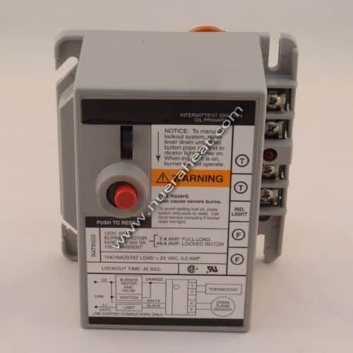 EnergyLogic Burner Assembly Primary Control Honeywell 20210118 Front View