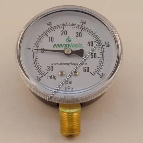 EnergyLogic Fuel Pump Assembly Compound Pressure Gauge - 20270188
