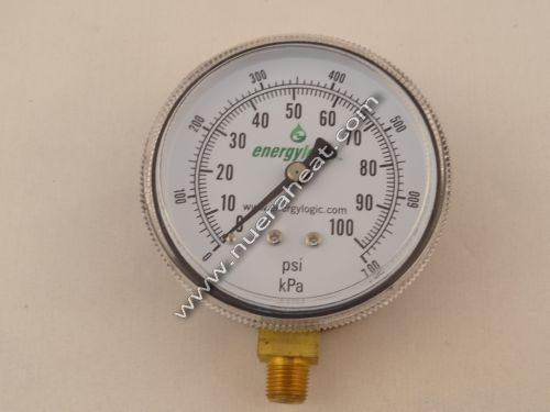 EnergyLogic Fuel Pump Assembly Pressure Gauge 0 to 160 PSI 20270183
