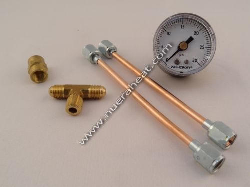 EnergyLogic Tools and Accessories Air Compressor Test Gauge Kit 050000092