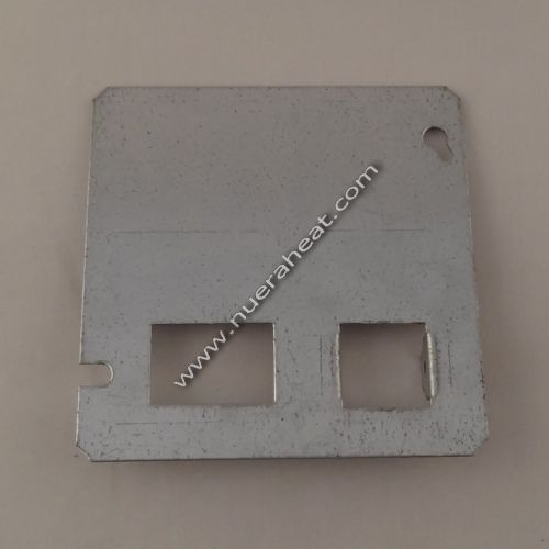 energylogic – wiring box cover plate – with square plug – p/n: 14033208